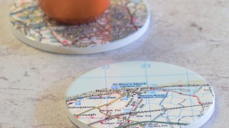 1. Postcode coasters: Fun, practical and perfectly themed for the occasion. Picture: Pushka Home/PA