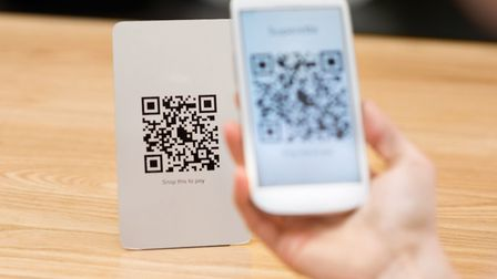 7. A QR code for the Wi-Fi: This can get any device with a scanner online within seconds. Picture: T
