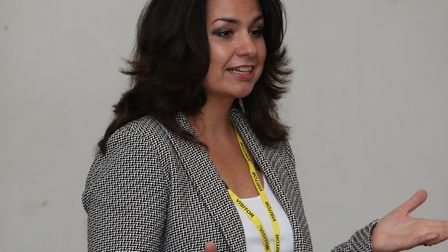 Former St Albans district councillor Heidi Allen. Picture: Danny Loo