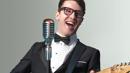 Long-running Buddy Holly tribute band Buddy Holly & The Cricketers are performing at The Alban Arena