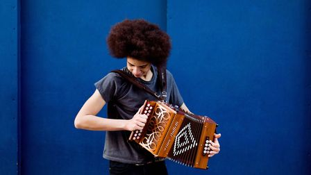 Folk at the Maltings welcomes singer and squeezebox player Cohen Braithwaite-Kilcoyne to St Albans f