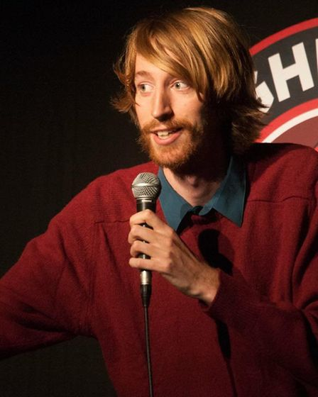 Ryan Dalton is one of the acts set to appear at the Humdingers Comedy show at the Abbey Theatre in S