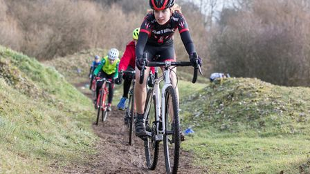 Verulam Cycling Club hosted the latest round of the Muddy Monsters series at the Marlborough Club in