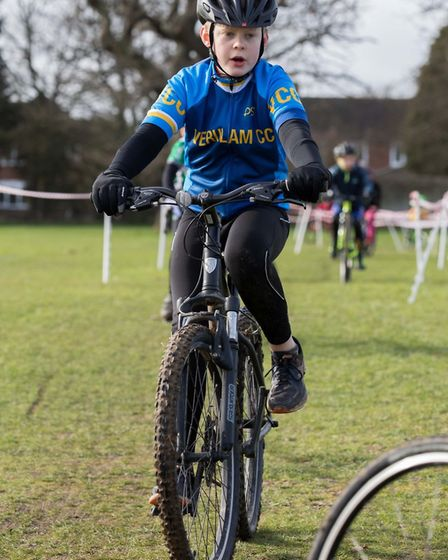 Verulam Cycling Club's Alex Taylor-Rose at the Muddy Monsters event. Picture: JUDITH PARRY PHOTOGRAP