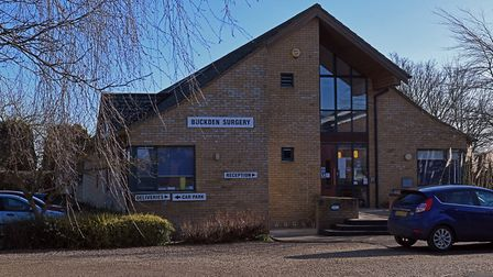The doctors surgery in Buckden which NHS England have said does not have the capacity