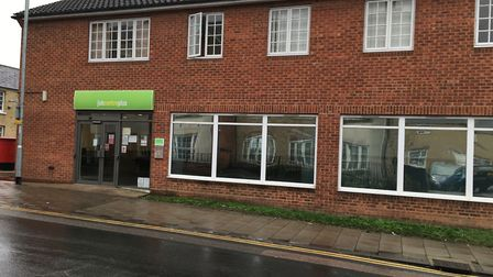 The former Huntingdon job centre which, if approved by councillors, could be used as a rehabilitatio