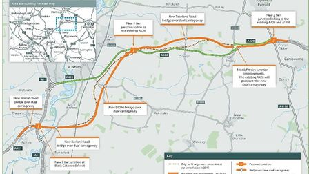 Highways England has announced the preferred route for the new road that will run from the Black Cat