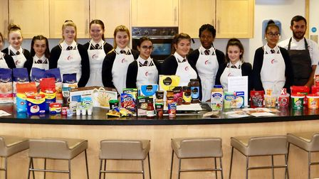 Loreto 'chefs' who took part in the workshop.