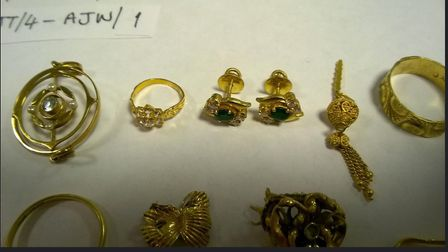 Some of the items returned nearly two years after a burglary at a home in Oldhurst. Picture: CAMBS P