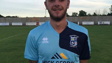 Charlie Bowen netted the decisive spot kick for Godmanchester Rovers.