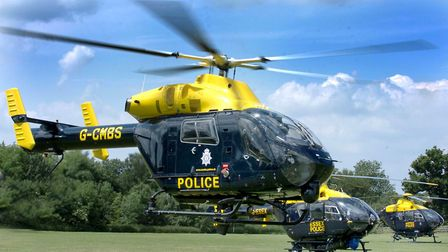 Two men were seen in the area a few hours later and arrested following a search assisted by the poli