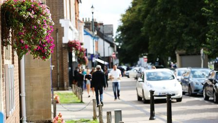 Harpenden: not as posh as Chelsea or Westminster. Picture: DANNY LOO