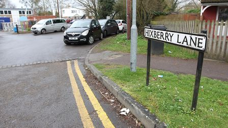 Hixberry Lane. Picture: Danny Loo