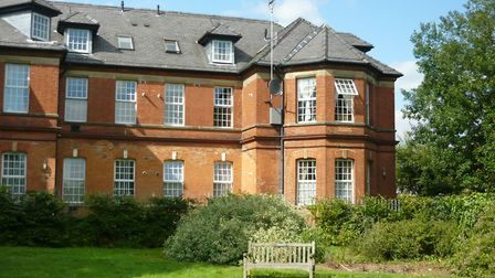 One of Highfield Park's old hospital buildings