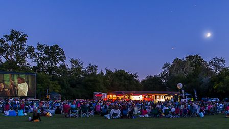 The Luna Cinema appears regularly at Highfield Park