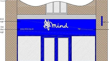 The design for the new shop in Huntingdon