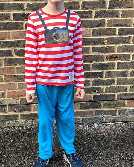 Where's Wally for World Book Day. Picture: Rebecca Baird