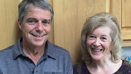 Pauline King and Ken Hart from Redbourn will be dancing to raise money for the Hospice of St Francis