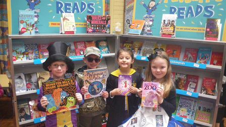 Pupils at Crosshall Infant took part in World Book Week