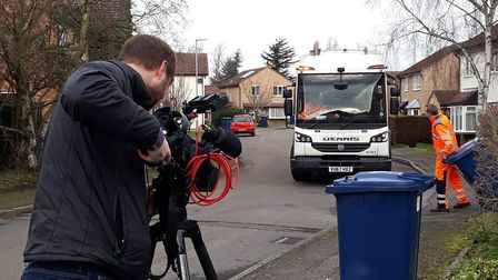 Sky cameras visited Huntingdonshire to feature the new initiative. Picture: HDC