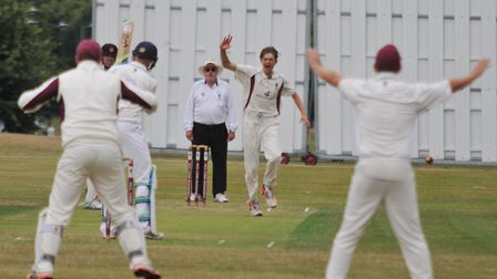 Harpenden's George Garrett has been included in Warwickshire's squad for the trip to the UAE. Pictur