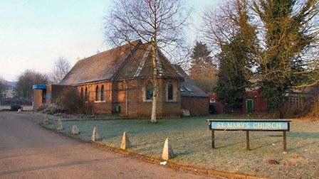 St Mary's church, Kinsbourne Green. Picture: Archant