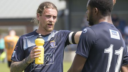 Former St Ives Town and St Neots Town man Scott Sinclair made a goalscoring Eynesbury Rovers debut.