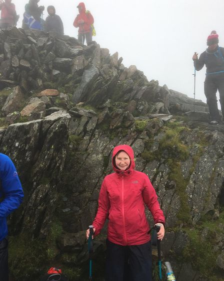 Lucy Hurley is climbing Everest to fundraise for Ataxia UK. Picture: Submitted by Lucy Hurley