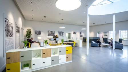 Private and collaborative office spaces are available for hire. Picture: Keith Heppell