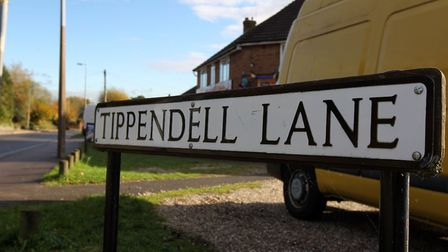 Tippendell Lane. Picture: Harry Hubbard