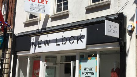The former New Look store in Huntingdon