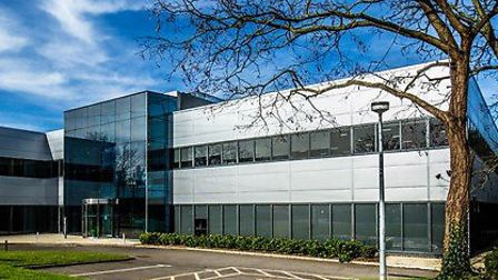 The building being bought by South Cambridgeshire District Council at Cambridge Science Park. Pictur