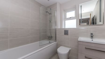 Inside one of the homes at the new development on Folly Lane, St Albans. Picture: Ashtons