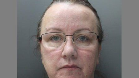 Carolyn McClune was sentenced to five years and nine months in prison for stealing thousands of poun