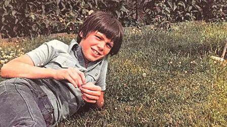 Lee Pomeroy as a child. Picture: Karen Blackaby