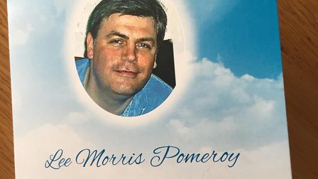 Lee Pomeroy was killed on a train in Surrey. Picture: Karen Blackaby