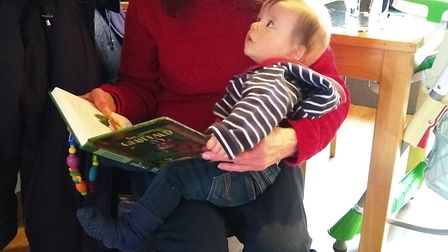 Rosie Gilbert, 62, with her grandson Leo. Picture: CONTRIBUTED