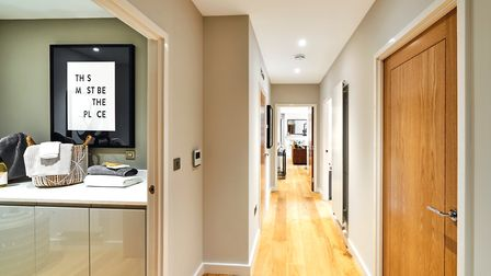 Inside the show apartment at Welcombe Mews, Harpenden. Picture: Fairview New Homes