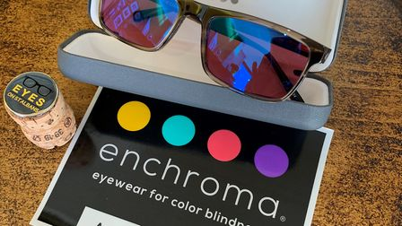 EnChroma colour blind glasses are available at EYES on St Albans