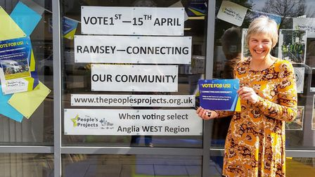 The Ramsey 'Connecting Our Community' project is one of the People's Projects being considered for f