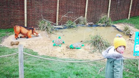 The Great Brick Safari at ZSL Whipsnade Zoo - picture by Hillary Childs