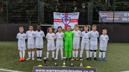 Welham Albion Warriors are heading to St George's Park for an international tournamanet.