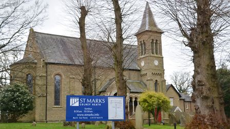 To the west end of the High Street is St Marks Church. Picture: Kevin Lines