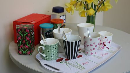 Rennie Grove Hospice Care is welcoming visitors to their weekly coffee mornings in St Albans. Pictur