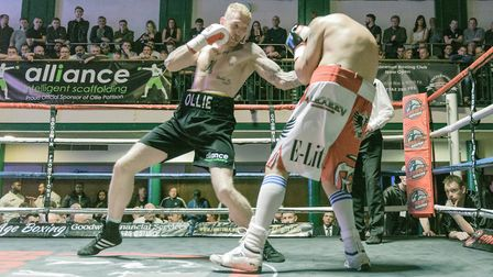 Ollie Pattison will fight on the undercard at Billy Joe Saunders' King of Herts show in Stevenage. P