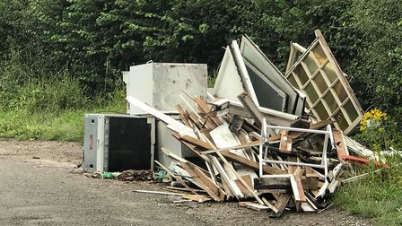 Fly-tipping is plaguing residents around Colney Heath.
