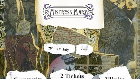 The website for the Mistress Mary Festival has appeared online. Picture: MISTRESS MARY