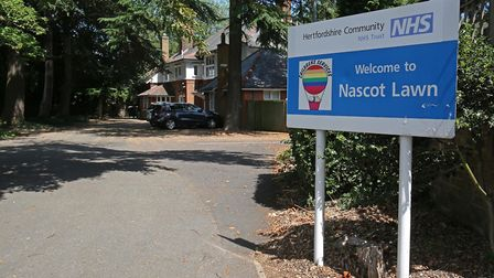 The outside of Nascot Lawn respite centre in Watford. Photo: Danny Loo.