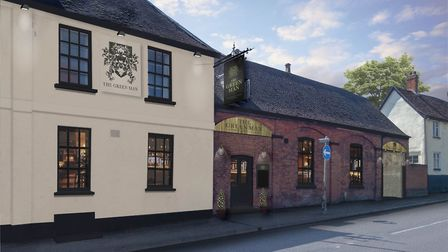 An impression of what The Green Man will look like when refurbishment is complete. Picture: Star Pub