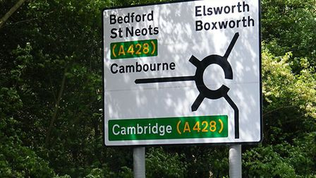 Work is taking place to upgrade a 10-mile stretch of the A14. Picture: HIGHWAYS ENGLAND